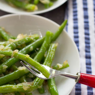 String Beans and Shallots Recipe