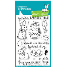 Lawn Fawn Clear Stamps 4X6 Eggstra Special Easter