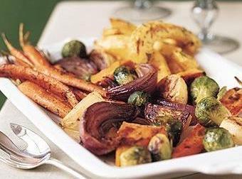 Maple Glazed Winter Vegetables Recipe