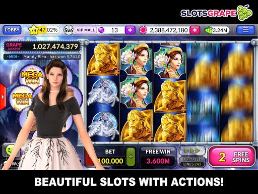 SLOTS GRAPE - Free Slots and Table Games  screenshots 3