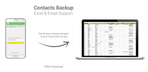 Contacts Backup--Excel & Email - Apps on Google Play