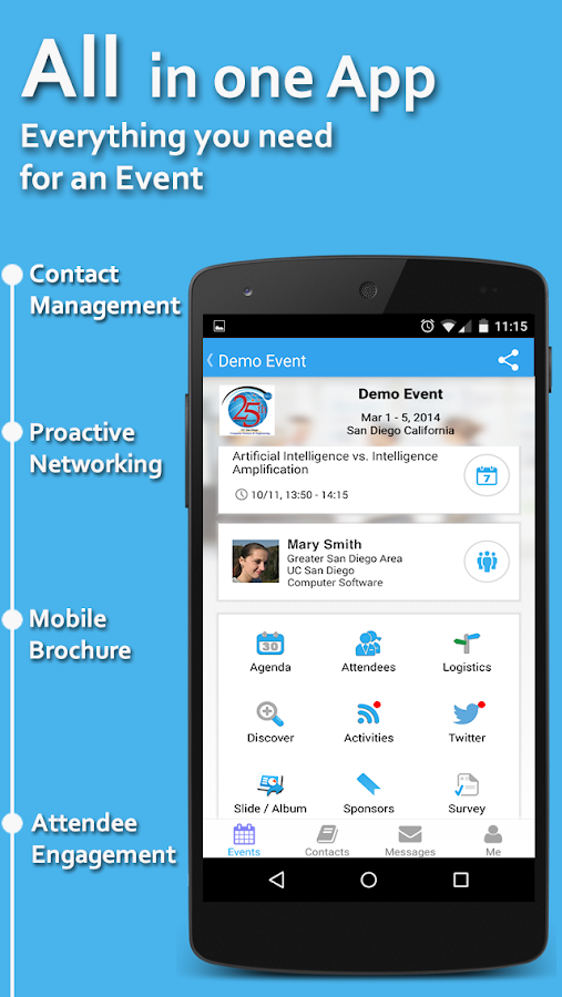 Whova - Networking at Events - screenshot