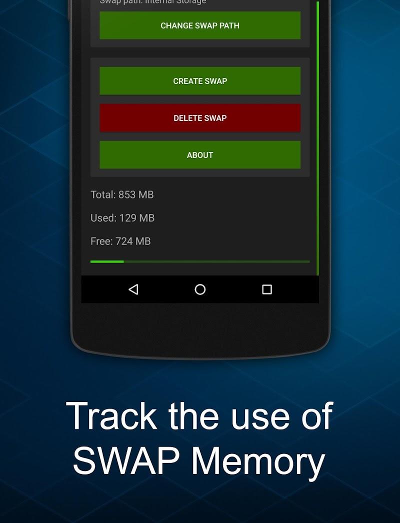 Swapper - Create SWAP Memory Screenshot 1