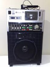 Photo: Clarion 8 Track Karaoke System