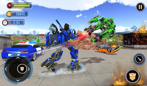 US Robot Car Transform - Police Robot Fighting 1.0.1 screenshots 16