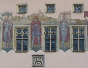 Photo: Lüftelmalerei; Rathaus