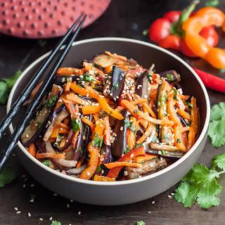 Asian Eggplant Salad - Xe.