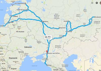 Is het in Rusland verder reizen dan in Brazilië? We zochten het voor u uit!