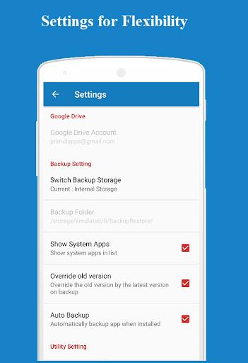 Backup and Restore - App, Contacts, Sms , Calllogs 2.0.50.98 screenshots 7
