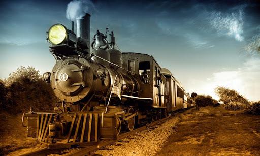 玩免費休閒APP|下載蒸気機関車のパズル app不用錢|硬是要APP