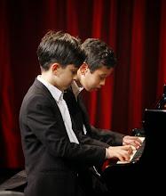 Photo: Pianoduo Joël en Paywast - tweede prijswinnaars op Jan Pasveerconcours 2015 - Ardito fotografie