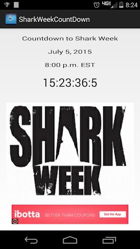 Shark Week Countdown