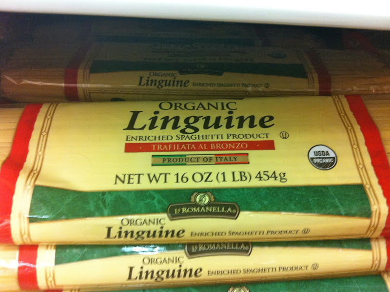 Photo: There's linguine...