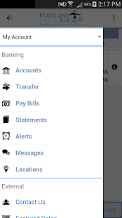 PDX8FCU Mobile Banking- screenshot thumbnail