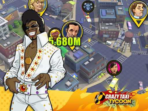 Crazy Taxi Idle Tycoon  captures d'écran 2
