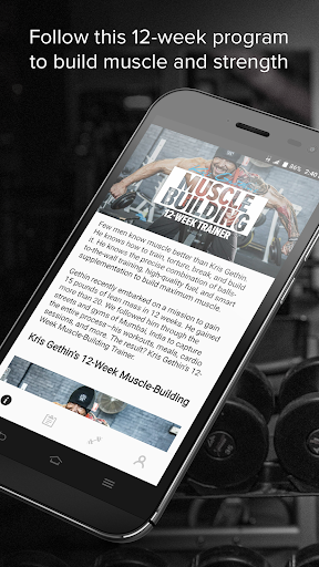 Kris Gethin Muscle Building screenshot 1