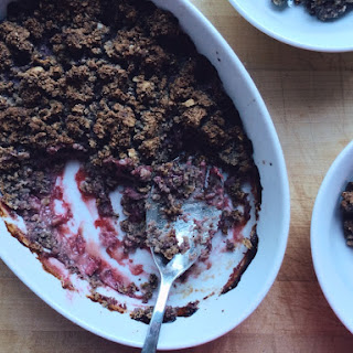 STRAWBERRY OAT BREAKFAST CRISP Recipe