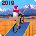 Fearless BMX Bicycle Stunts 2019 icon