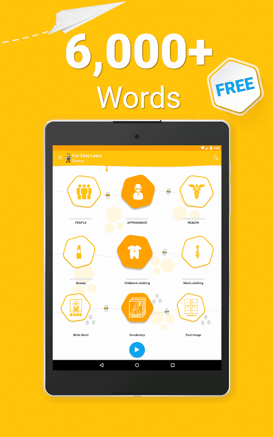 Learn Czech Vocabulary - 6,000 Words- screenshot