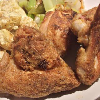 Cornmeal Fried Chicken.