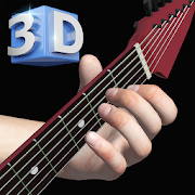 Basis Gitarren Akkorde 3D - Basic Guitar Chords 3D