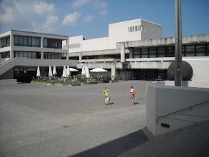 Photo: The university campus--50s, 60s concrete campus
