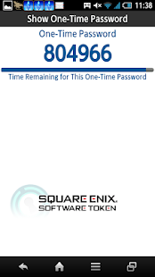 SQUARE ENIX Software Token- screenshot thumbnail