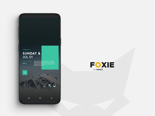 Screenshot for Foxie for KWGT in United States Play Store