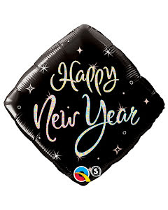 Folieballong, Happy New Year