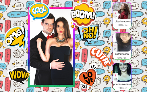 Video chat - a dating platform for sexy women 5 screenshots 24