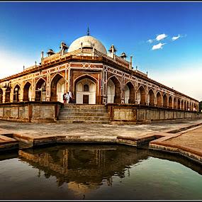 Hyumaun's Tomb by Debasis Banerjee - Buildings & Architecture Public & Historical ( heritage buildings, hyumauns tomb, tombs, mughal architecture, delhi )