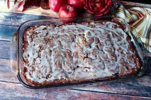 "Apple Spice Cinnamon Swirl Coffee Cake""I love a lot of 'swirl' in..."