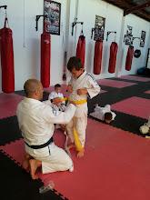 Photo: Misha get yellow belt in BJJ