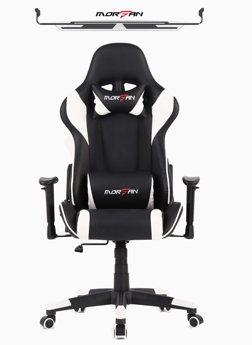 Best Gaming Chairs Under 200 |  Morfan Gaming Chair Massage & Rocking Function