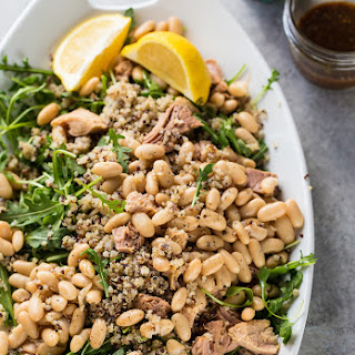 Tuna, White Bean, and Arugula Salad