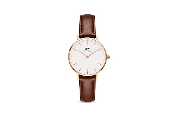 Daniel Wellington Classic Petite Leather Watch from Bloomingdale's