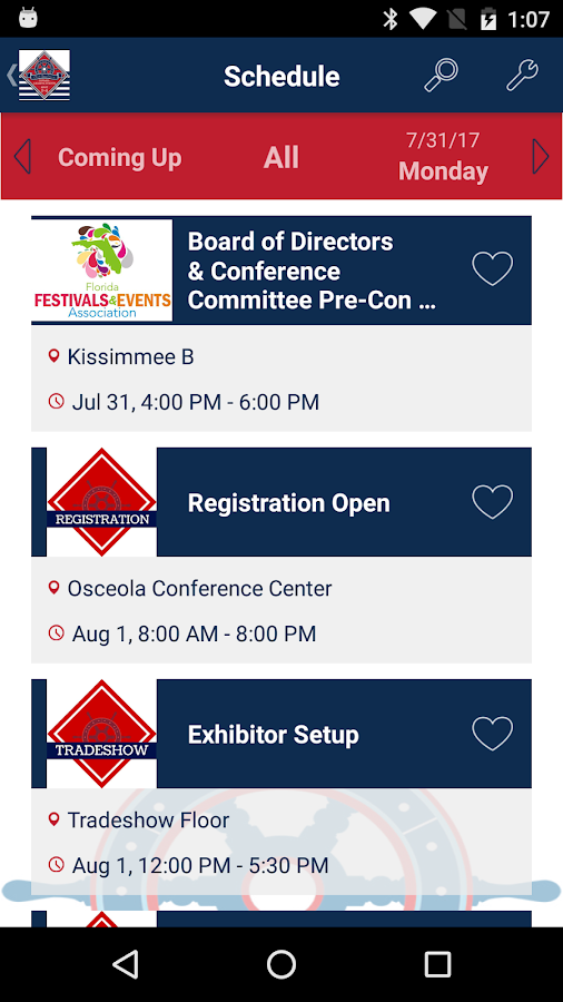 FFEA 2017 Convention and Tradeshow- screenshot