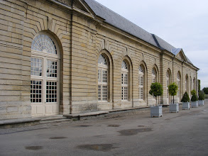 Photo: The nearby Orangerie was completed in 1685, two years after Colbert's son had inherited the property. First used for plays by Racine and Voltaire, among others, it continues today as a concert venue.