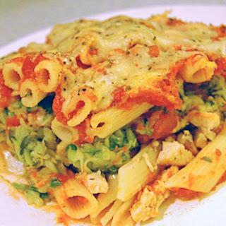 Chicken & Zucchini Baked Ziti Recipe