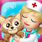 Pet Doctor. Animal Care Game