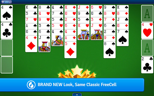 FreeCell Solitaire  gameplay | by HackJr.Pw 6