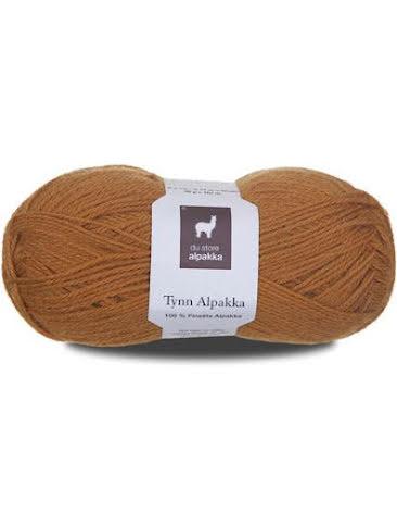 Tynn Alpakka, färg 117 guldokra