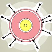 A-A Arrows in Wheel