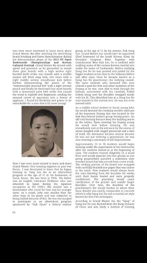 Tae Kwon Do Life Magazine screenshot 5