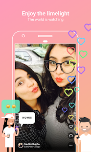 Roposo- Video Edit Filter Effect Share Selfie Chat- screenshot thumbnail