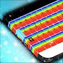 Cute Rainbow Keyboard Theme icon