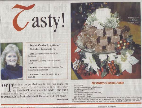 I Made This For A Recipe Contest For The Local Newspaper And We Made It In! Yay!