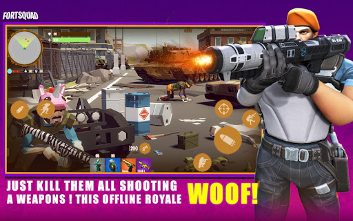Fort Squad Royale Battle android2mod screenshots 2