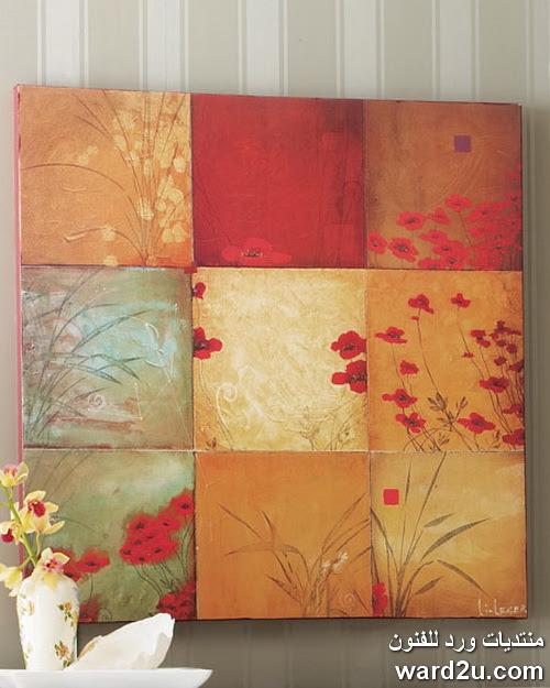 لوحات اعجبتنى بالالوان الاكريلك