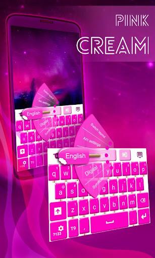粉红冰淇淋键盘